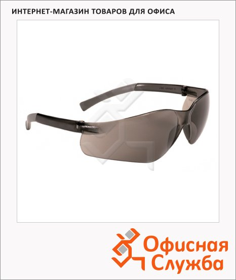 Очки защитные Kimberly-Clark Jackson Safety V20 Purity 25652, дымчатые