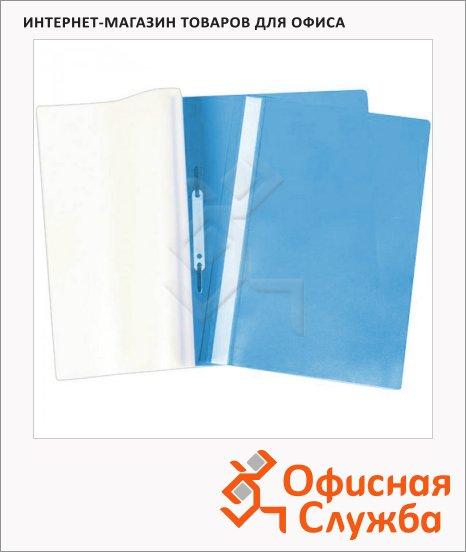 Скоросшиватель пластиковый Office Space Fms голубой, А4, Fms16-1_714