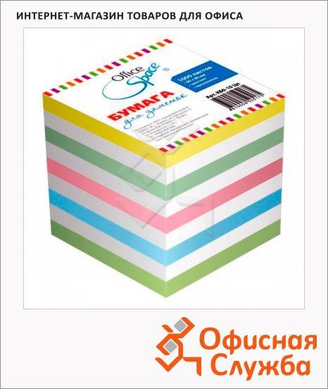 фото: Блок для записей проклеенный Office Space 5 цветов 1000 листов