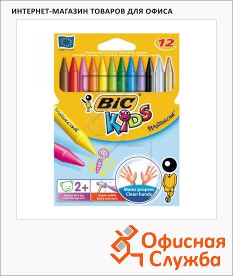Набор мелков Bic Plastidecor 920299 12 цветов, пластиковые