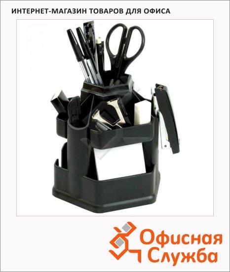 фото: Органайзер настольный Fregatte Fregatte 13 предметов черный
