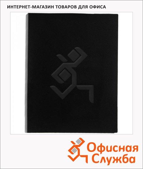 Пластиковая папка с зажимом Berlingo Line черная, А4, 14мм, ACn_01401