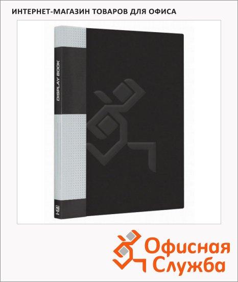 Папка файловая Berlingo Standard А4, на 10 файлов, черная