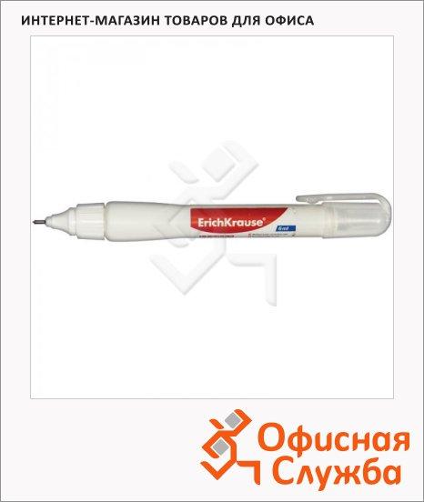 Корректирующий карандаш Erich Krause Techno White, 6мл