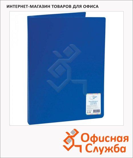 фото: Папка на 4-х кольцах А4 Office Space синяя F4R2_304