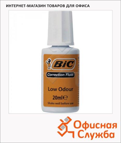 Корректирующая жидкость Bic 20мл, с кисточкой, на водной основе