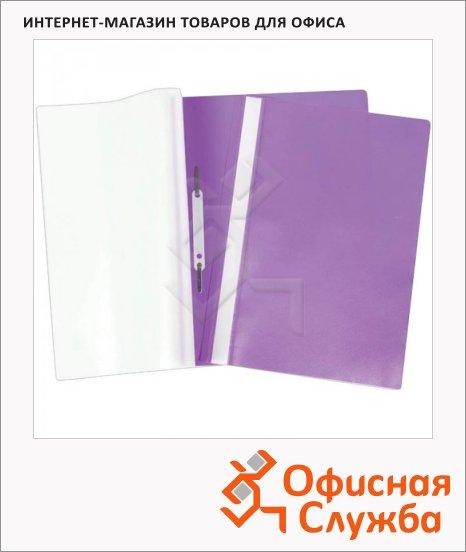 фото: Скоросшиватель пластиковый Office Space Fms фиолетовый А4, Fms16-6_719