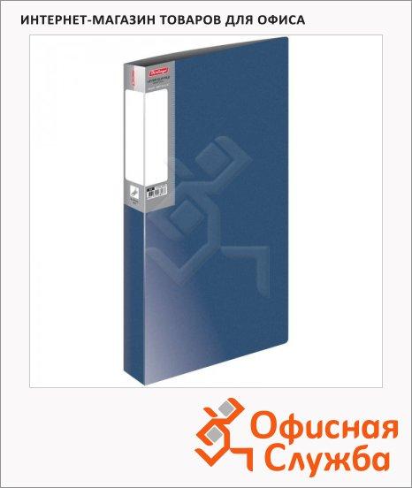 фото: Папка пластиковая с зажимом Metallic синяя А4, 14мм, ACn_10702