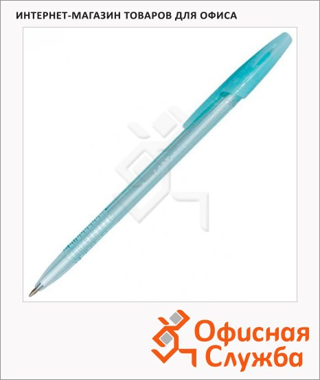 Ручка шариковая Erich Krause R-301 Spring синяя, 1мм, 31059
