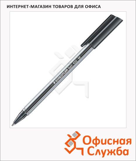 Ручка шариковая Staedtler Ball черная, 0.5мм