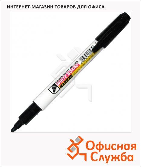 Маркер для досок Crown WB-505 черный, 2мм, пулевидный наконечник