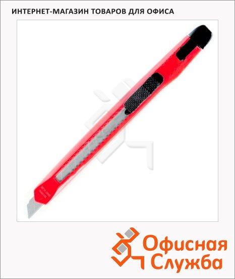 Нож канцелярский Berlingo Office 9мм, розовый