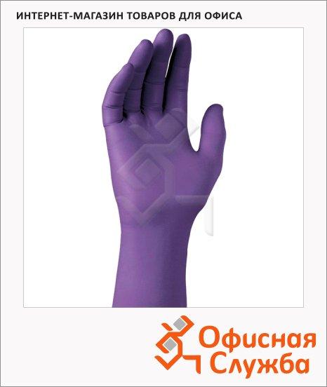 фото: Перчатки нитриловые Kimberly-Clark Kimtech Science Purple Nitrile 90626 фиолетовые, S, 50 пар