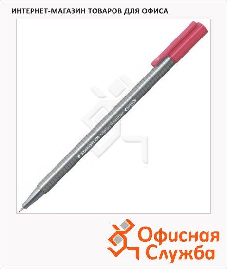 Ручка капиллярная Staedtler Triplus Fineliner 334, 0,3мм, бордовый
