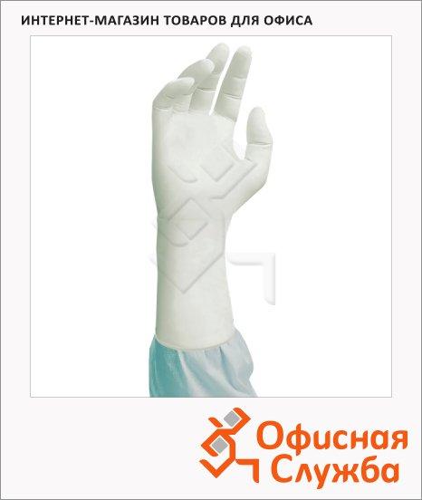 Перчатки стерильные Kimberly-Clark Kimtech Pure G3 р.M+, белые, 1 пара, стерильные, ISO Class 3, HC61185