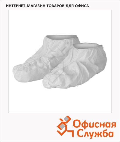 Бахилы Kimberly-Clark Kleenguard A40 98700, белые, 100 пар