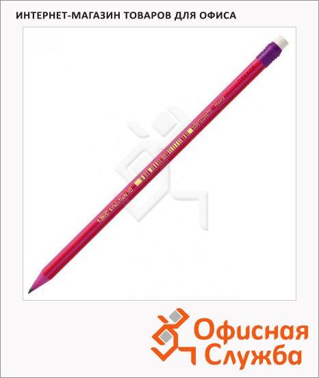 Карандаш чернографитный Bic Evolution Stripes HB, с ластиком, 896034