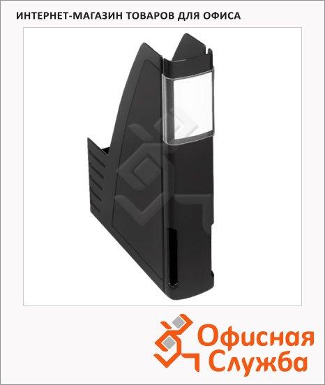 Накопитель вертикальный для бумаг Esselte EuroLine А4, 60мм, черный, 50543