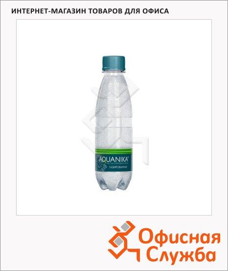 Вода минеральная Aquanika газ, 0.25л, ПЭТ
