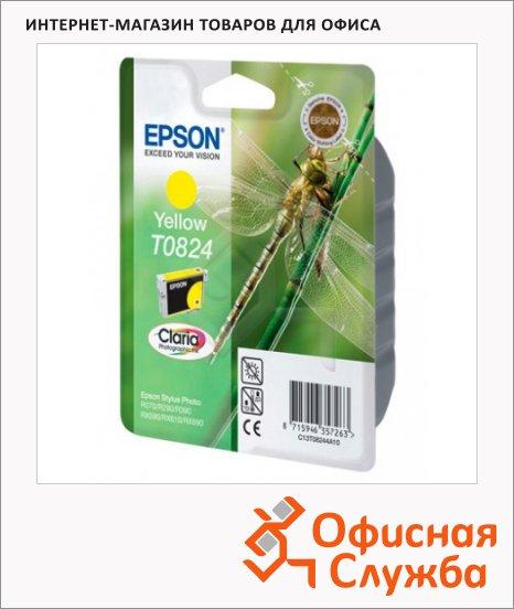фото: Картридж струйный Epson C13 T11244 A10 желтый