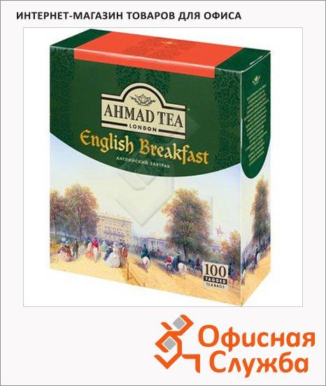 фото: Чай English Breakfast (Английский Завтрак) черный, 100 пакетиков
