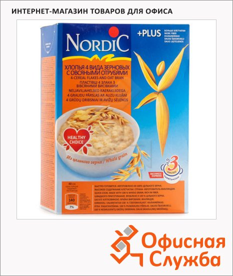 фото: Хлопья Nordic 4 вида зерновых 600г