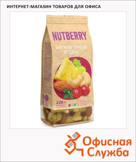 фото: Смесь орехов и сухофруктов Nutberry орехи/ фрукты/ ягоды 220г
