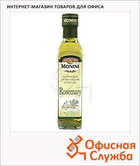Масло оливковое Monini Extra Virgin нерафинированное, с розмарином, 0.25л