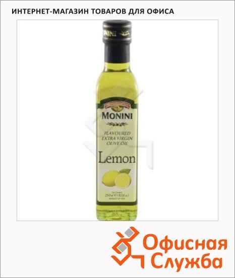 Масло оливковое Monini Extra Virgin нерафинированное, с лимоном, 0.25л