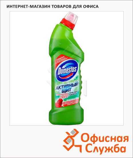 фото: Чистящее средство для сантехники Domestos Активный щит 750мл свежесть лайма, гель