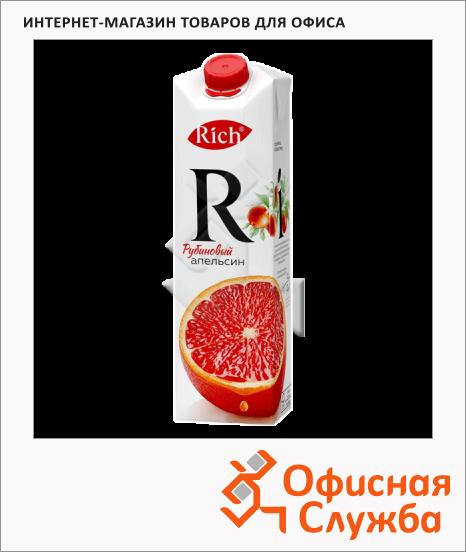 фото: Сок Rich рубиновый апельсин 1л