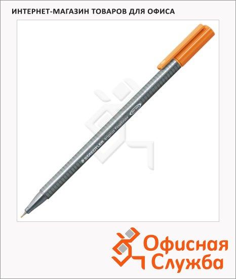 Ручка капиллярная Staedtler Triplus Fineliner 334, 0,3мм, светло-коричневый