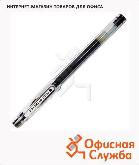Ручка гелевая Pilot BL-GC4-L G-Tec-C4 чёрная, 0.4мм
