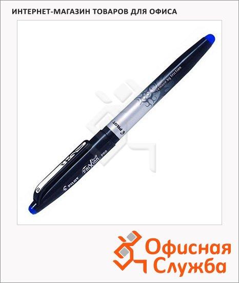 фото: Ручка гелевая стираемая Pilot Frixion Pro BL-FR0-7 синяя 0.7мм, с ластиком, с резиновым упором