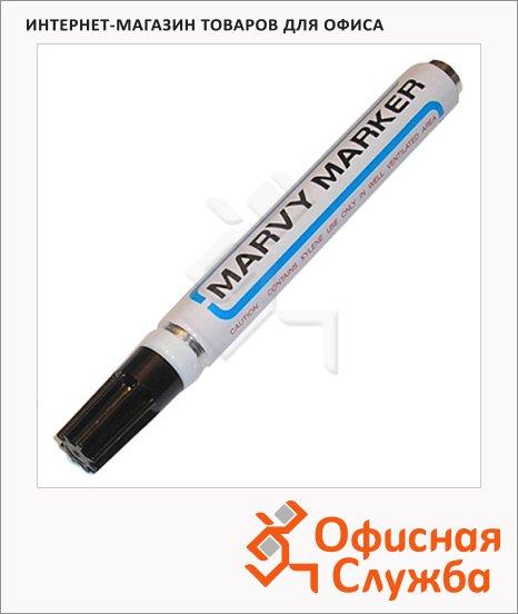 Маркер перманентный Marvy 400 черный, 1.5-3мм, круглый наконечник