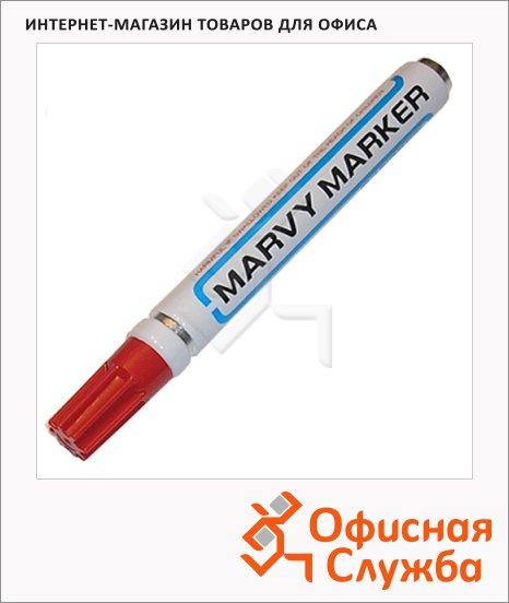 фото: Маркер перманентный Marvy 400 красный 1.5-3мм, круглый наконечник