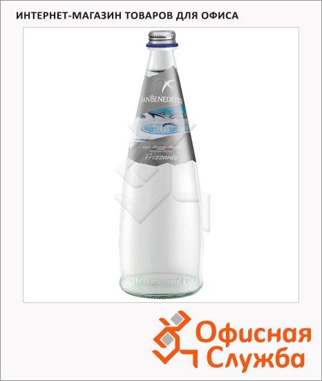 Вода минеральная San Benedetto газ, стекло, 0.75л