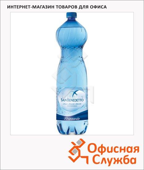 Вода минеральная San Benedetto газ, 1.5л, ПЭТ
