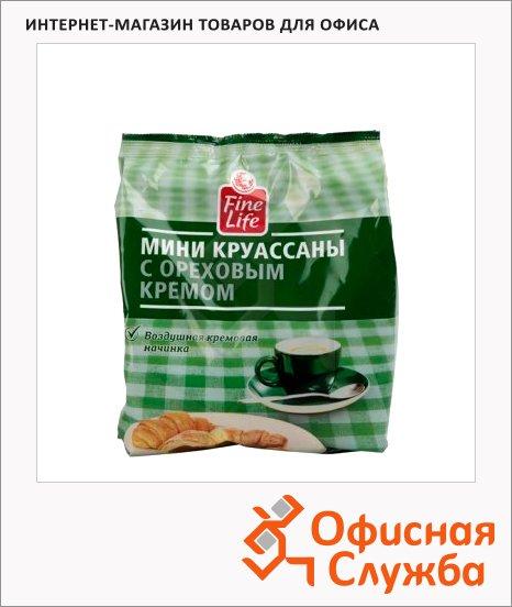 Мини-круассаны Fine Life ореховый крем, 200г