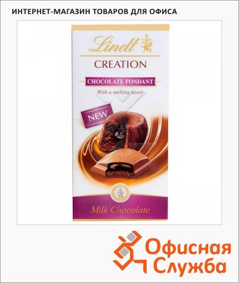 фото: Шоколад Lindt Creation молочный 100г, с шоколадной помадкой