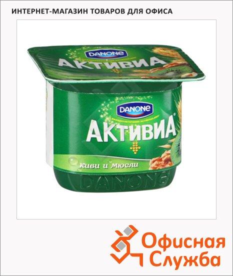 Йогурт Активиа киви и мюсли, 2.9%, 150г