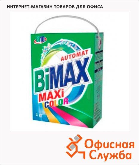 фото: Стиральный порошок Bimax Compact 4кг Color, автомат