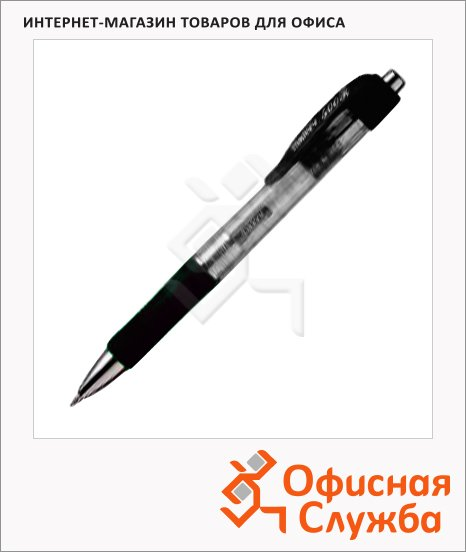фото: Ручка-роллер Marvy 500R черная 0.5мм