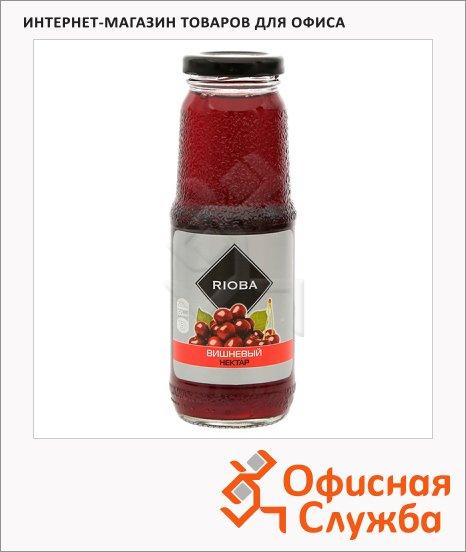 фото: Нектар Rioba вишневый 250мл, стекло