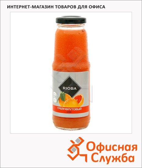 Сок Rioba грейпфрут, 0.25л, стекло