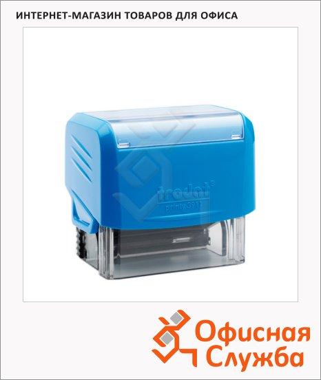 фото: Оснастка для прямоугольной печати Trodat Printy 38х14мм 3911, синяя