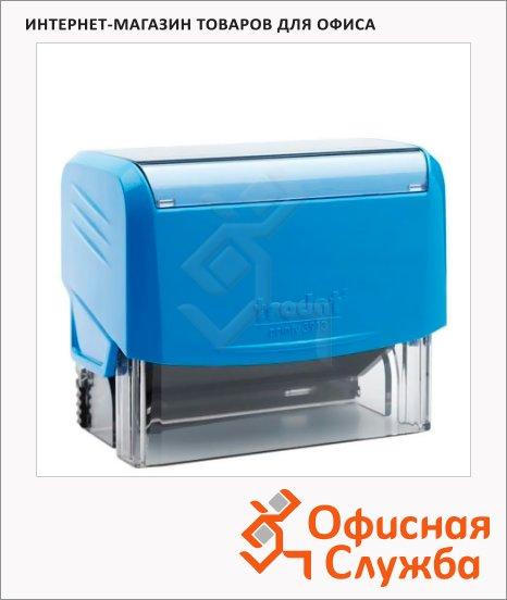 фото: Оснастка для прямоугольной печати Trodat Printy 58х22мм 3913, синяя