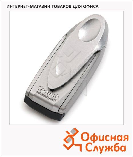 Оснастка карманная прямоугольная Trodat Mobile Printy 58х22мм, 9413, серебристая