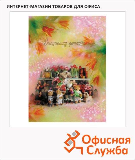 Папка адресная Выпускнику детского сада рисунок, А4, ламинированный картон
