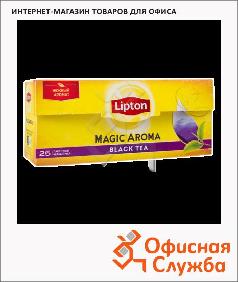 фото: Чай Lipton Magic Aroma черный, 25 пакетиков